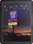 LED-Wandbild: Motel Route 66